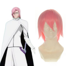 Rulercosplay Short Bleach SzayelAporro.Granz Light Pink Straight Cosplay Anime Wigs Wholesaler Resal