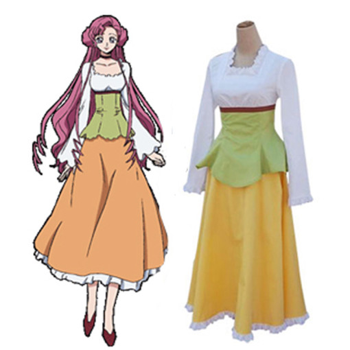 Rulercosplay Code Geass Euphemia Casual Wear Colorful Cosplay Costume Wholesaler Resaler