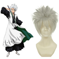 Rulercosplay Bleach Hitsugaya Toushirou White Heat Resistant Fiber White Cosplay Anime Wigs Wholesal
