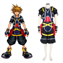 Rulercosplay Kingdom Hearts Sora Wisdom Form Black Cosplay Costume Wholesaler Resaler