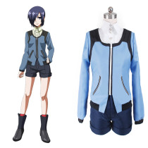 Rulercosplay Tokyo Ghoul Touka Kirishima Blue Uniform Cloth Cosplay Costume Wholesaler Resaler