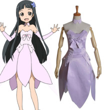 Rulercosplay Sword Art Online I (ALfheim Online) Yui Purple Uniform Cloth Cosplay Costume Wholesaler