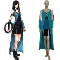 Rulercosplay Final Fantasy VIII 8 Rinoa Blue Battle Cosplay Costume Wholesaler Resaler
