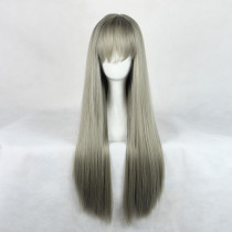 Rulercosplay Long Straight Dark Gray Lolita Wigs Wholesaler Resaler