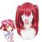 Rulercosplay LoveLive!Sunshine!! Kurosawa Ruby Double Ponytail Red Anime Cosplay Wigs Wholesaler Res