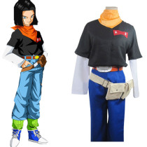 Rulercosplay Dragon Ball Andriod Uniform Cloth Cosplay Costume Wholesaler Resaler