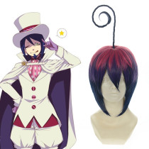 Rulercosplay Blue Exorcist Mephisto Short Multicolor Anime Cosplay Wigs Wholesaler Resaler