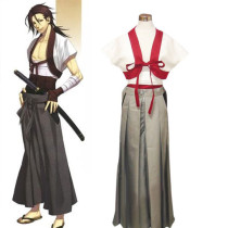 Rulercosplay Hakuouki Sanosuke Harada Normal Gray Cosplay Costume Wholesaler Resaler