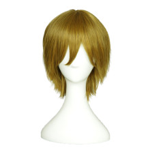 Rulercosplay LoveLive! Hanayo Koizumi Male Version Short Flaxen Heat Resistant Fiber Cosplay Anime W