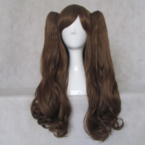 Rulercosplay Long Curly Brown Ponytails Lolita Wigs Wholesaler Resaler