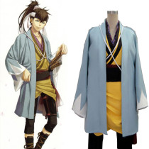 Rulercosplay Hakuouki Heisuke Todo Blue Cosplay Costume Wholesaler Resaler