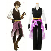 Rulercosplay Hakuouki Shinsengumi Kitan Heisuke Todo Black Cosplay Costume Wholesaler Resaler