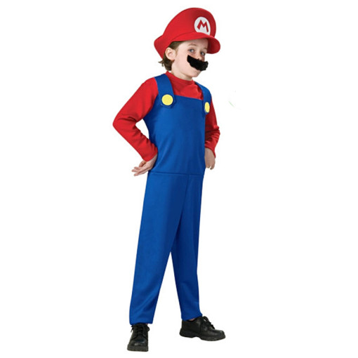 Rulercosplay Super Mario Polyester Kid Stage Cosplay Costume Wholesaler Resaler