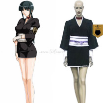 Rulercosplay Bleach 12th Division Lieutenant Kurotsuchi Nemu Black Cosplay Costume Wholesaler Resale