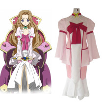 Rulercosplay Code Geass Nunnally Lamperouge Cosplay Costume Wholesaler Resaler
