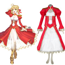 Rulercosplay Fate/Stay Night Saber Red Dress Cosplay Costume Wholesaler Resaler