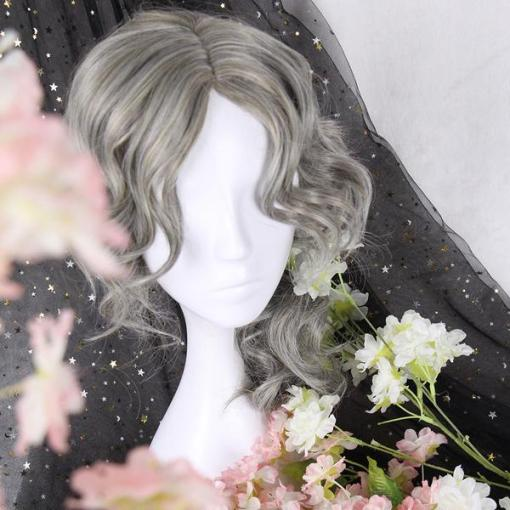 Rulercosplay Sweet Harajuku Original Grey Mixed Lolita Wigs