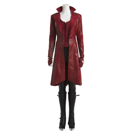 Captain America 3 Civil War Scarlet Witch Anime Cosplay Costumes