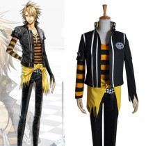 Rulercosplay AMNESIA Toma Yellow Uniform Cloth Cosplay Costume Wholesaler Resaler