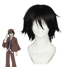 Rulercosplay Stray Dogs Ranpo Edogawa Black Short Anime Cosplay Wigs Wholesaler Resaler