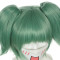 Rulercosplay Assassination Classroom Kayano Kaede Green With Double Ponytail Anime Cosplay Wigs Whol
