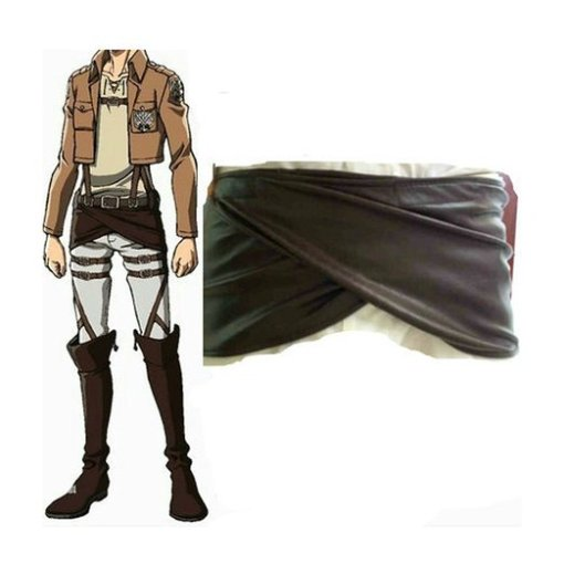 Rulercosplay Attack On Titan Attack On Titan Shingeki No Kyojin Leather Buttocks Cosplsy Apron Whole