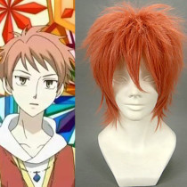 Rulercosplay Heat Resistant Fiber Inspired By Ouran High School Host Club Hitachiin Short Orange Ani