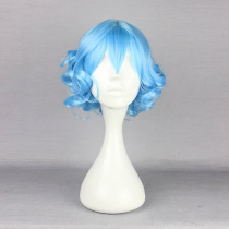 Rulercosplay Short Curl Blue Lolita Fashion Wigs Wholesaler Resaler