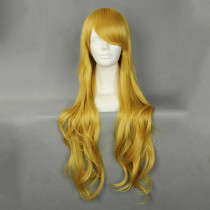 Rulercosplay Sweet Lolita Heat Resistant Fiber 80cm Long Yellow Wigs Wholesaler Resaler
