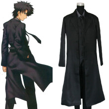 Rulercosplay Fate Zero Kiritsugu Emiya New Version Black Cosplay Costume Wholesaler Resaler