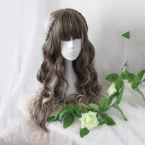 Rulercospaly Sweet Harajuku Original Dark Brown Lolita Wigs