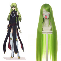 Rulercosplay Code Geass CC Long Light Green Anime Cosplay Wig Wholesaler Resaler