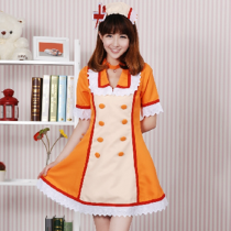 Rulercosplay Hatsune Miku Pattern Yellow Cotton Nurse Uniform Cosplay Costume Wholesaler Resaler