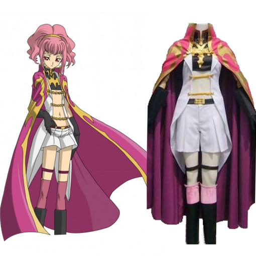 Rulercosplay Code Geass Anya Alstreim Knight Red Cosplay Costume Wholesaler Resaler