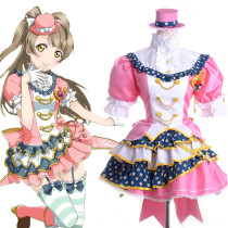 Rulercosplay LoveLive! Kousaka Honoka Pink Satin Cosplay Costume Wholesaler Resaler