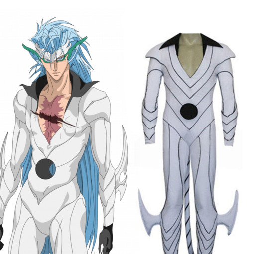 Rulercosplay Bleach Sexta Espada Grimmjow Liberate White Cosplay Costume Wholesaler Resaler