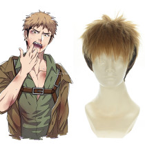 Rulercosplay Heat Resistant Fiber Inspired By Attack On Titan Jean Kirstein Short Yellow Anime Wigs