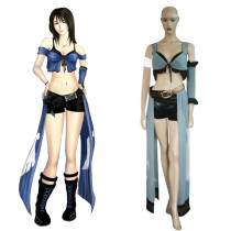 Rulercosplay Final Fantasy VIII Rinoa Blue Cosplay Costume Wholesaler Resaler