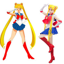 Rulercosplay Sailor Moon Tsukino Usagi Blue Uniform Cloth Cospaly Costume Wholesaler Resaler