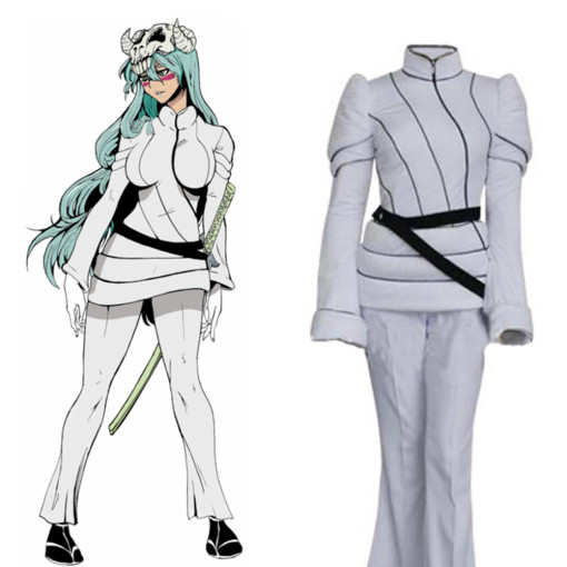 Rulercosplay Bleach Ex-Tercera Espada Nel Tu Liberate White Cosplay Costume Wholesaler Resaler