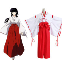Rulercosplay Inuyasha Kikyou Uniform Cloth Cosplay Costume Wholesaler Resaler