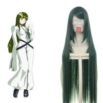 Rulercospaly BLEACH SunSun Long Green Heat Resistant Fiber Anime Cosplay Wigs Wholesaler Resaler