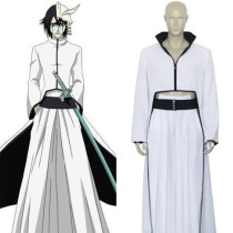 Rulercosplay Bleach Cuarto Espada Ulquiorra Schiffer White Uniform Cloth Cosplay Costume Wholesaler