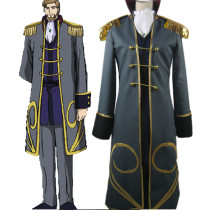 Rulercosplay Code Geass Odysseus Wu Britannia Green Cosplay Costume Wholesaler Resaler