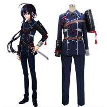 Rulercosplay Touken Ranbu Online Namazuo Toushirou Dark Blue Uniform Cosplay Costumes Wholesaler Res
