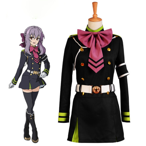 Rulercosplay Seraph Of The End Hiiragi Shinoa Anime Cosplay Costume Wholesaler Resaler