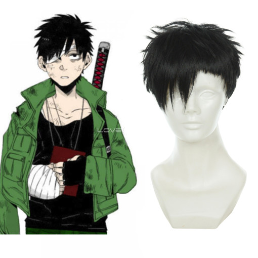 Rulercosplay GANGSTA Nicolas Brown Short Heat Resistant Fiber Cospaly Anime Wigs Wholesaler Resaler