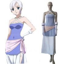 Rulercosplay Fairy Tail Lisanna Dress Cosplay Purple Costume Wholesaler Resaler