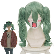 Rulercosplay VOCALOID Hatsune Miku Green Loose Wavy Anime Cosplay Wigs