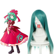 Rulercosplay Touhou Project Kagiyama Hina Long Straight Green Anime Cosplay Wigs Wholesaler Resaler